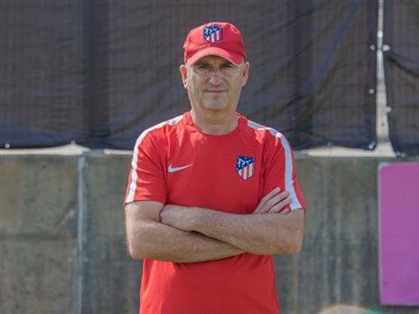 """מאמן הנוער של ב""""ש: מהאקדמיה של אתלטיקו"""