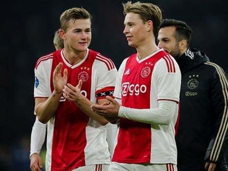 הצמד שיוביל את הכדורגל ההולנדי. דה ליכט ודה יונג (getty)
