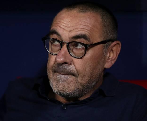 המאמן האיטלקי היה מאוכזב. סארי (getty)