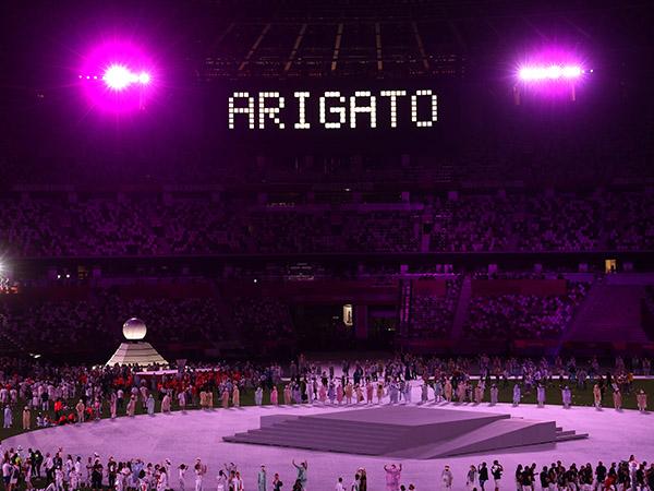 אולימפיאדת טוקיו 2020 - טקס הסיום (gettyimages)