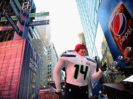 הרחובות בניו יורק לבשו חג (gettyimages)