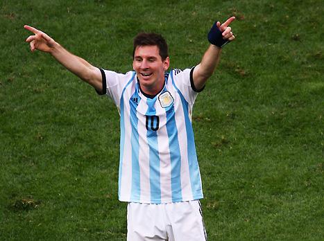 מסי, שוב היה שם בשביל ארגנטינה (GETTYIMAGES)