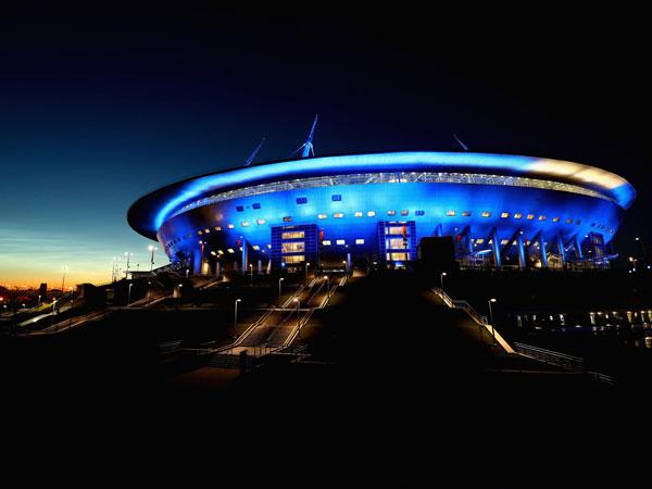 טסים לחלל? האצטדיון בסנט פטרסבורג (Getty)