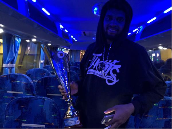 רייס עם תואר ה-MVP הנוצץ