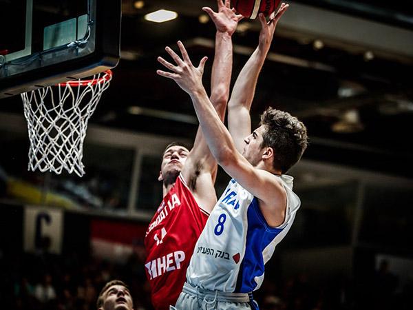 אבדיה. מחצית ראשונה נהדרת שלו (FIBA)