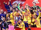 בפעם ה-31 בהיסטוריה. גביע המלך של ברצלונה (Getty)