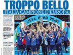 """""""יותר מדי טוב"""": בתקשורת האיטלקית חוגגים"""