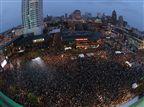 נצבעה ירוק: צפו בחגיגות האליפות במילווקי