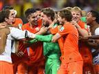 הולנד בחצי הגמר אחרי 3:4 בפנדלים