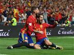 תצוגת תכלית: 0:3 לספרד על איטליה