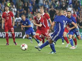 הנבחרת איבדה יתרון והפסידה 2:1 לרומניה
