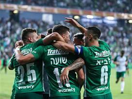 """ירוק עולה: 0:2 למכבי חיפה על ק""""ש"""