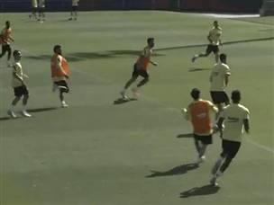 צ'יפ מ-20 מטר: מסי הימם את טר שטגן באימון