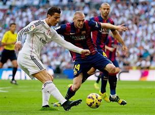 טרף קל: 1:3 גדול לריאל על ברצלונה
