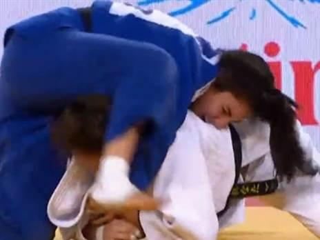 צפו: ענבל שמש הפסידה בקרב על מדליית הארד