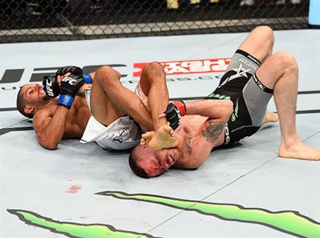 מאזן של 1:2 ב-UFC. להט (gettyimages)