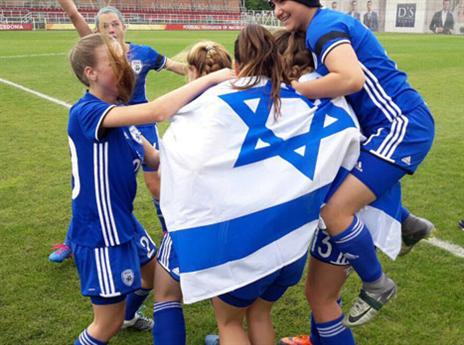 הישא נפלא לנבחרת הנשים עד גיל 16