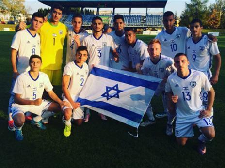 הישג נהדר לנבחרת הנערים (באדיבות עמוד האינסטגרם של ההתאחדות לכדורגל)