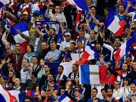 הקהל הצרפתי יכול לפנטז על זכייה במונדיאל (getty)