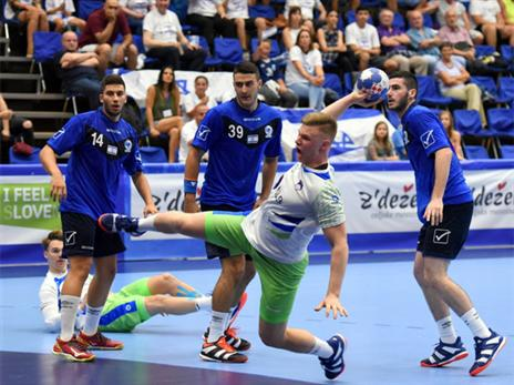 הפסד שני לנבחרת (צילום: Slavko Kolar, EHF)