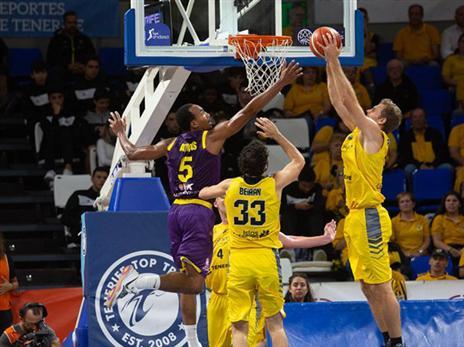 הספרדים היו עדיפים בכל פרמטר (FIBA)