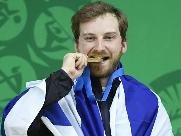 בפעם השלישית ברציפות: ריכטר במשחקים האולימפיים (צילום: עמית שיסל, הוועד האולימפי בישראל)