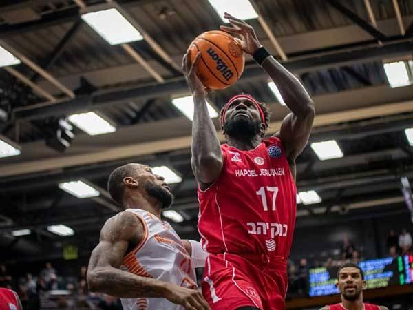 סימל את האיכות החזקה של ירושלים אמש. בריימו (FIBA)