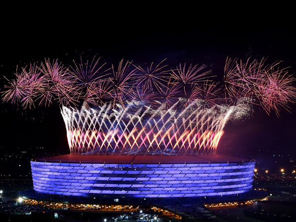 האצטדיון האולימפי, באקו (Getty)