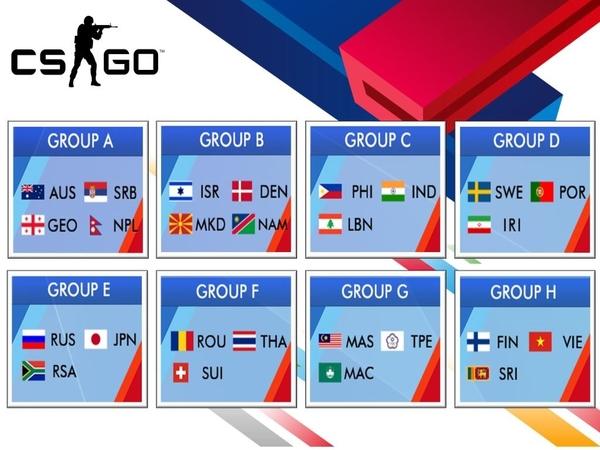 בכותר Counter Strike: Global Offensive ישראל תשחק מול דנמרק, מקדוניה ונימיביה