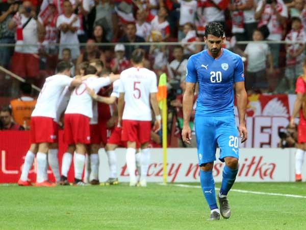 למרות התבוסה בפולין, ישראל קפצה למקום ה-82 (אודי ציטיאט)