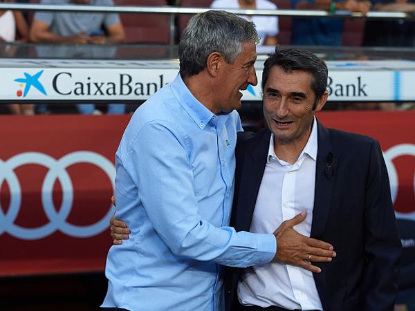 עם ואלוורדה. אין ספק שבברצלונה יעדיפו את הסגנון של סטיין (Getty)