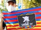 ההפגנות נגד הנשיא (getty)