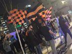 צפו: עוד הפגנה מול ביתו של ברק אברמוב