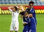 מוק' אליפות העולם: 1:3 גדול לנשים על סרביה
