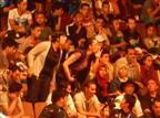 הקהל המרוקאי מקלל את הישראלים