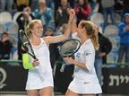 ניצחון ענק על קרואטיה. פאר וגלושקו (עמית שיסל, איגוד הטניס)