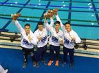הנבחרת עם המדליות (איגוד השחייה)
