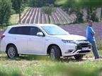 במבחן: צפו מיצובישי אאוטלנדר PHEV החדשה בנהיגה ראשונה