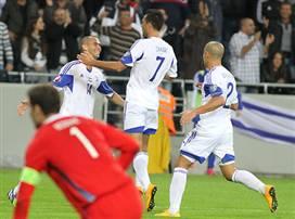 הצגה כחול לבן: ה-0:3 של ישראל על בוסניה