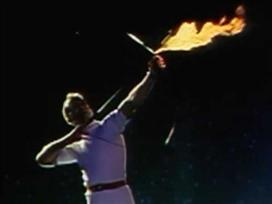 25 שנה לחץ שהצית את האש האולימפית