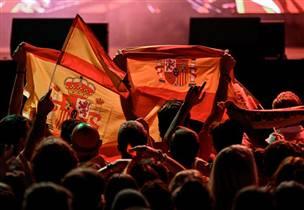 עשרות אלפים חגגו עם אלופת העולם במדריד