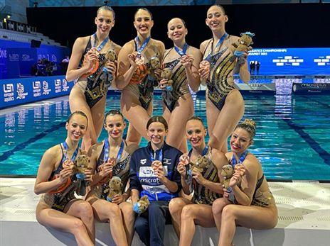 ארד לישראל באליפות אירופה בשחיה אמנותית