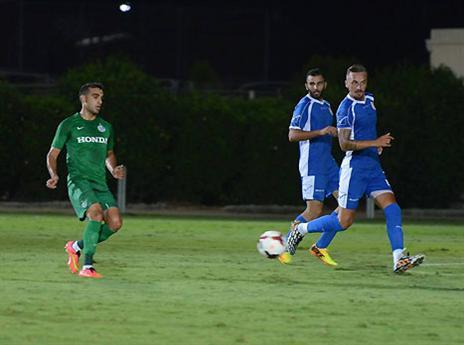חמישה שערים ולא מעט החמצות... (צילום: האתר הרשמי של מכבי חיפה)