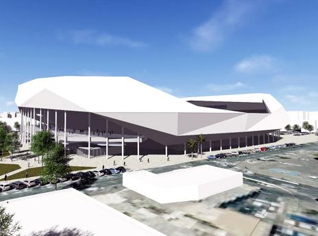 ההדמייה של האצטדיון המחודש (מנספלד קהת אדריכלים)