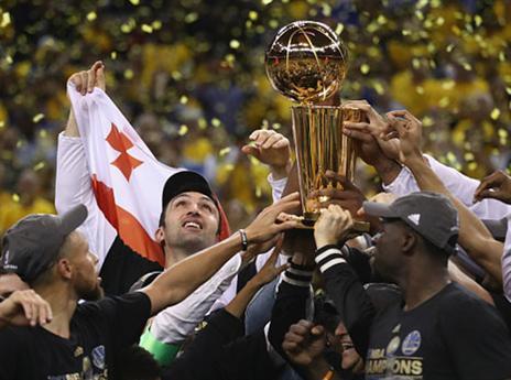 אלופת ה-NBA לעונת 2016/17 (getty)
