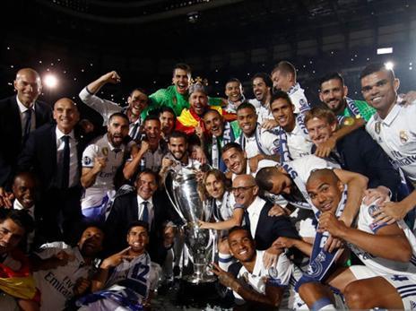 רונאלדו, גביע האלופות והחברים (getty)