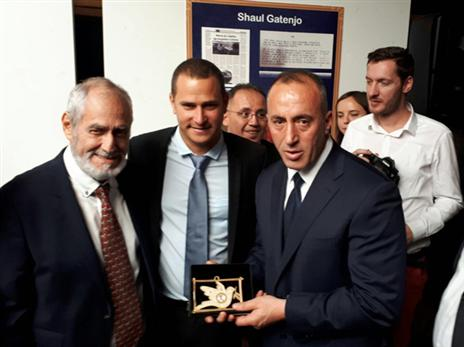 הביקור המיוחד אצל ראש ממשלת קוסובו (ההתאחדות לכדורגל)