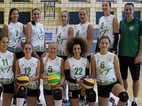 מכבי חיפה מקווה לשמור על התואר (איגוד הכדורעף)