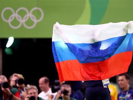 הדגל הרוסי יחזור באולימפיאדת טוקיו (getty)