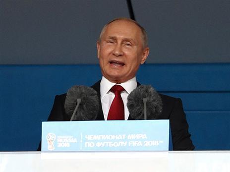 רוסיה התעלמה מהאוהדים. פוטין (getty)